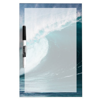 USA, Hawaii, Oahu, Large waves Dry Erase Board
