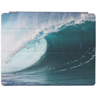 USA, Hawaii, Oahu, Large waves iPad Cover