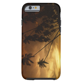 USA, Hawaii. Sunset on Molokai. Tough iPhone 6 Case