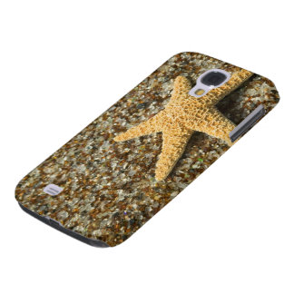 USA, HI, Kauai, Glass Beach with Star fish Galaxy S4 Case