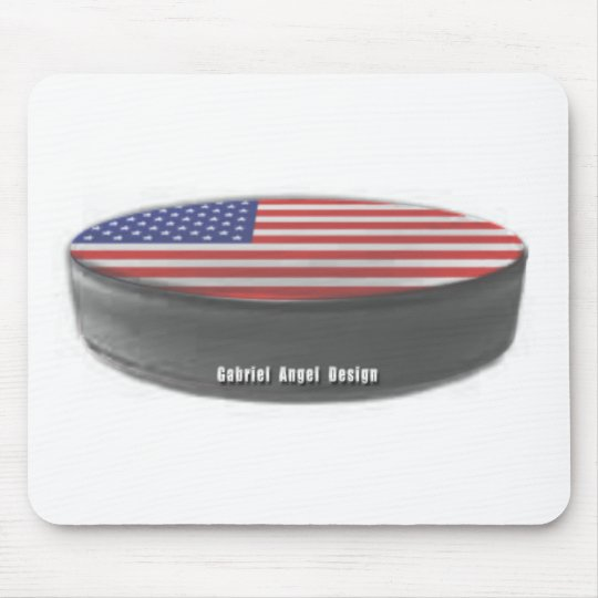 USA Hockey Mouse Mat