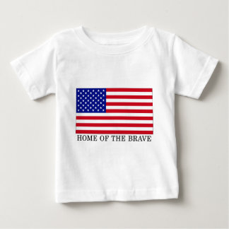 USA Home Of The Brave Baby T-Shirt