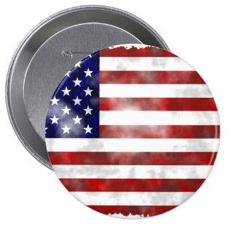 USA Huge, 4 Inch Round Button