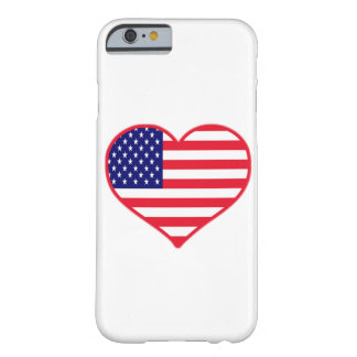 USA I Love America iPhone 6/6s Barely There iPhone 6 Case