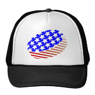 USA Icehockey puck Trucker Hat