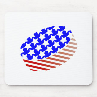 USA Icehockey puck Mouse Pad