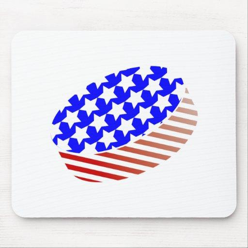 USA Icehockey puck Mousepad