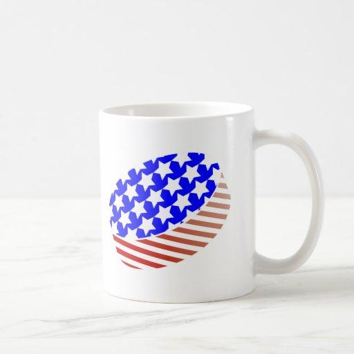 USA Icehockey puck Mug