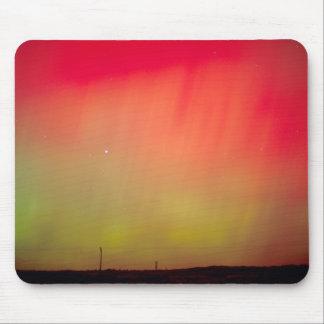 USA, Idaho. Aurora borealis, northern lights at 2 Mouse Mat