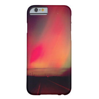 USA, Idaho. Aurora borealis, northern lights at Barely There iPhone 6 Case