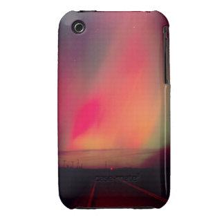 USA, Idaho. Aurora borealis, northern lights at iPhone 3 Case