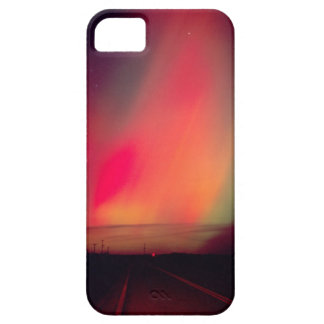 USA, Idaho. Aurora borealis, northern lights at iPhone 5 Case