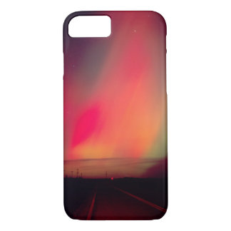 USA, Idaho. Aurora borealis, northern lights at iPhone 8/7 Case