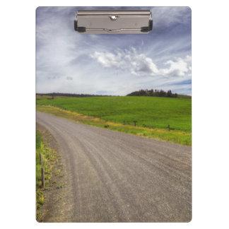 USA, Idaho, Idaho County, Canola Field Clipboard