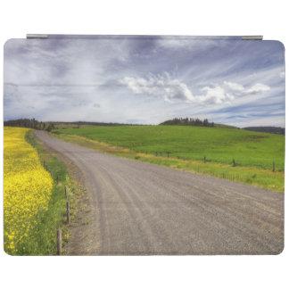 USA, Idaho, Idaho County, Canola Field iPad Cover