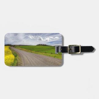 USA, Idaho, Idaho County, Canola Field Luggage Tag