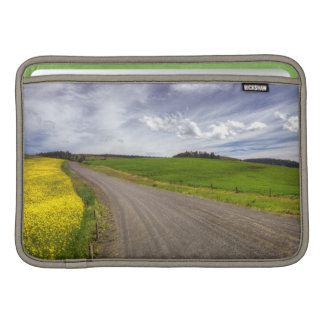 USA, Idaho, Idaho County, Canola Field MacBook Sleeve