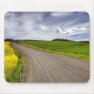 USA, Idaho, Idaho County, Canola Field Mouse Pad