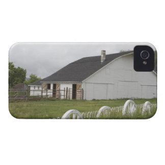 USA Idaho Idaho Falls White barn and Case-Mate Blackberry Case
