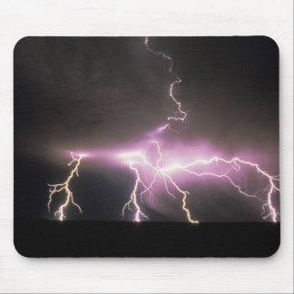 USA, Idaho. Lightning. Mouse Pad