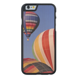 USA, Idaho, Teton Valley. Colorful hot-air Carved® Maple iPhone 6 Slim Case