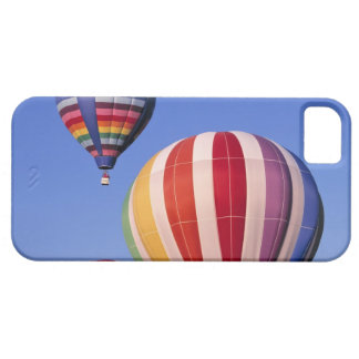 USA, Idaho, Teton Valley. Colorful hot-air Case For The iPhone 5