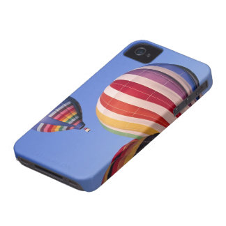 USA, Idaho, Teton Valley. Colorful hot-air Case-Mate iPhone 4 Cases