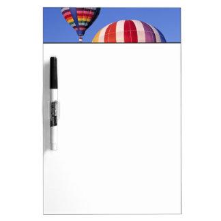 USA, Idaho, Teton Valley. Colorful hot-air Dry Erase Board