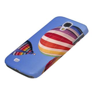 USA, Idaho, Teton Valley. Colorful hot-air Galaxy S4 Case