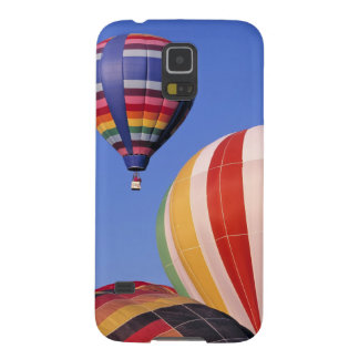 USA, Idaho, Teton Valley. Colorful hot-air Galaxy S5 Cases