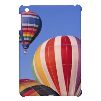 USA, Idaho, Teton Valley. Colorful hot-air iPad Mini Case
