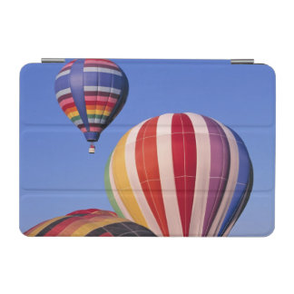 USA, Idaho, Teton Valley. Colorful hot-air iPad Mini Cover