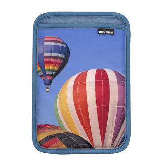 USA, Idaho, Teton Valley. Colorful hot-air iPad Mini Sleeve