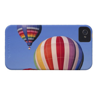 USA, Idaho, Teton Valley. Colorful hot-air iPhone 4 Case-Mate Case