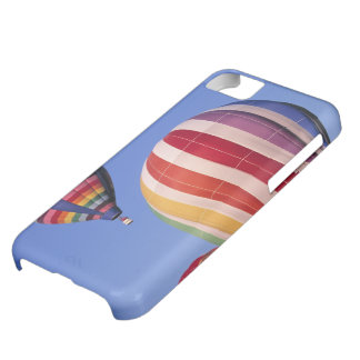 USA, Idaho, Teton Valley. Colorful hot-air iPhone 5C Case