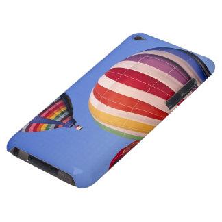 USA, Idaho, Teton Valley. Colorful hot-air iPod Case-Mate Case