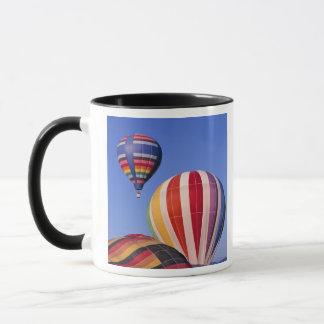 USA, Idaho, Teton Valley. Colorful hot-air Mug
