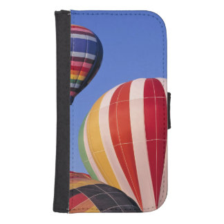 USA, Idaho, Teton Valley. Colorful hot-air Samsung S4 Wallet Case