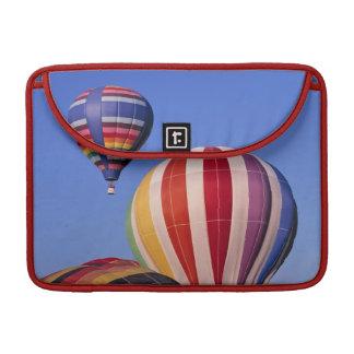 USA, Idaho, Teton Valley. Colorful hot-air Sleeve For MacBook Pro