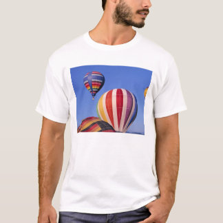 USA, Idaho, Teton Valley. Colorful hot-air T-Shirt