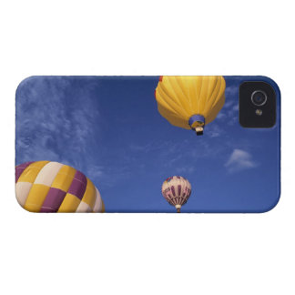 USA, Idaho, Teton Valley. Hot-air balloons iPhone 4 Cover