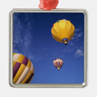 USA, Idaho, Teton Valley. Hot-air balloons Christmas Ornament