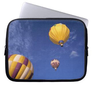 USA, Idaho, Teton Valley. Hot-air balloons Laptop Sleeve