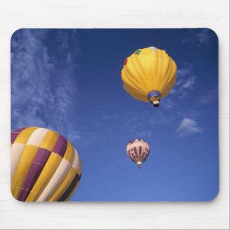USA, Idaho, Teton Valley. Hot-air balloons Mouse Pad