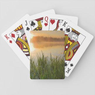 USA, Idaho, Winchester Lake State Park, Lapwai Playing Cards