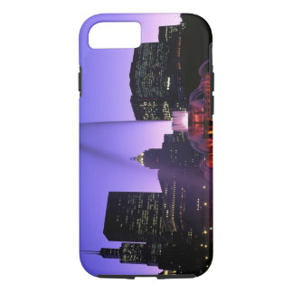 USA, IL, Chicago. Buckingham Fountain in Grant iPhone 8/7 Case