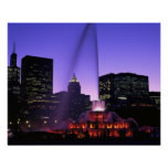 USA, IL, Chicago. Buckingham Fountain in Grant Posters