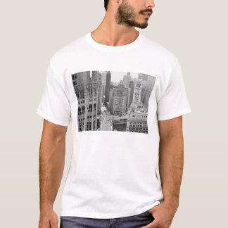 USA, IL, Chicago, Loop from Hotel T-Shirt