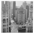 USA, IL, Chicago, Loop from Hotel Tile