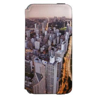 USA, Illinois, Chicago, Aerial view of Lake Incipio Watson™ iPhone 6 Wallet Case